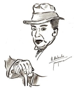 dibujo-antonio-machado Francisco POnce