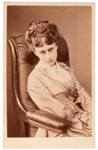 Última fotografía de Carroll a Alice en 1870