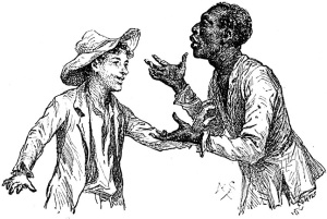 an analysis of mark twains opinions on slaves in the adventures of tom sawyer and the adventures of  ― mark twain, adventures of huckleberry finn 28 likes like if you are with the quality, or at a funeral, or trying to go to sleep when you ain't sleepy - if.