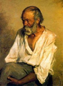 Pablo Ruiz Picasso, el viejo pescador, 1895